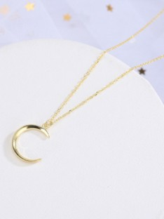 Korean Zilver met Moon Kettingen